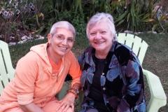 Swamiji and Joyce