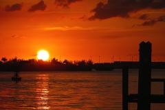 Bay Side at Sunset